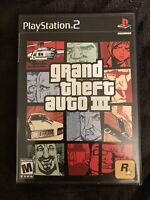 Grand Theft Auto 3 GTA3 PS2 Box And Manual (NO DISK! Box And Manual ONLY!)