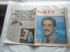 GRIT-NOVEMBER 10,1985-TV'S IRA FLATOW:THE MAN WHO MAKES SCIENCE FUN