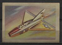Convair 7002 Aircraft Vintage 1950s Dutch Trading Card No. 11