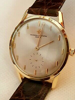 Vacheron Constantin Vintage Yellow Gold 18K Rare Reference Inverted Indices