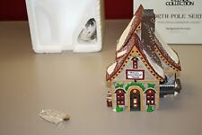 Department 56 Heritage Village North Pole Popcorn & Cranberry House - 56388