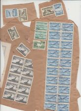 Stamps Finland various issues x 600 still on piece from the 1940's period