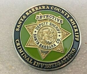 Challenge Coin San Bernardino County Sheriff, California