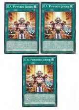 X3 YUGIOH U.A. POWERED JERSEY NECH-EN089 COMMON 1ST EDITON (IN HAND)