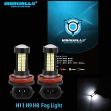 2PCS H11 H8 CREE LED Fog Light Bulbs Replace HID XENON For Ford Focus 2005-2018