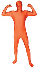 Adult Morphsuit GLOW Orange, Pink, Green, Genuine adult morph suit costumes
