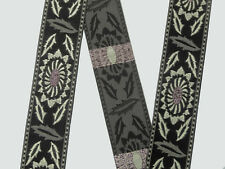 """02""""(5.08 cm) wide Jacquard Trim By The Yard Embroidered Braid Sew Ribbon T659A"""