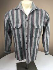 Vtg Fieldmaster flannel shirt lumber jack hipster striped plaid M long sleeved
