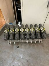 Parker Hydraulic Manifold 8 Section With Solenoid Valves