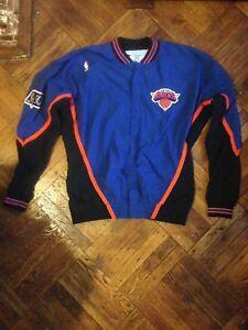 Game Worn 1996-1997 NBA At 50 New York Knicks Warm Up Jacket
