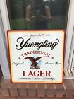 """Vintage 1996 Yuengling Beer With Eagle Hanging Tin Sign 16""""x16"""""""