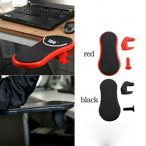 Desk Attachable Home Office Computer Arm Support Pad Arm Wrist Rest Adjustable p