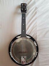 More details for rare 1940s melody banjo ukulele george houghton and sons banjolele george formby