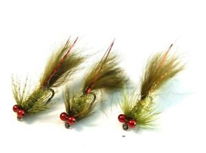Micro Damsels Trout Fly Fishing Flies Mini Pulling Lures Stillwater Nymphs