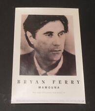 BRYAN FERRY POSTER-Mamouna