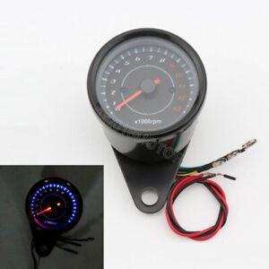 LED Tachometer Gauge for Honda Harley Sports Cruiser Street Chopper Bobber Bike