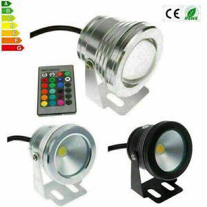 12V DC 10W RGB LED Warmwei? Wei? Unterwasserstrahler Strahler Fluter Lampe IP68