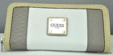 Portefeuille des T.N.-O. GUESS Caria Taupe CQ NeuF Femme