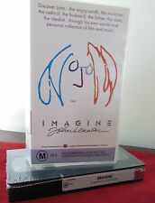 JOHN LENNON ~ Imagine  NEW SEALED vhs/video