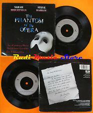 LP 45 7'' SARAH BRIGHTMAN STEVE HARLEY The phantom of the opera 1986 cd mc dvd