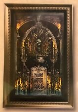 Disney Parks The Haunted Mansion Final Arrangements LE Giclee by Jeremy Fulton