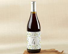 1-20 Botanical Garden Wine Label Table Numbers Wedding Table Numbers
