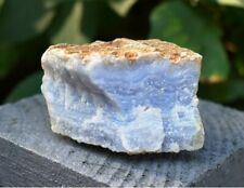 Crystal For Soothing - Natural Blue Lace Agate Raw Chunk Stone Piece