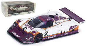 Spark 43LM88 Jaguar XJR9 #2 'Silk Cut' Le Mans Winner 1988 - 1/43 Scale