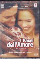 Dvd **I PASSI DELL'AMORE** di Nicholas Spark nuovo 2002