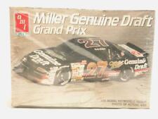1/25 Amt Ertl Miller Genuine Draft Grand Prix Stock Car Plastic Scale Model Kit