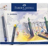 Faber-Castell Farbstifte Goldfaber 24er Metalletui