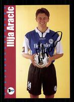 Ilja Aracic Autogrammkarte Arminia Bielefeld 2000-01 Original Signiert+A 149457