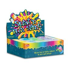 Splat And Mix Triple Colour Slime - 29846 Bright Colourful Slime Tub Kids Fun