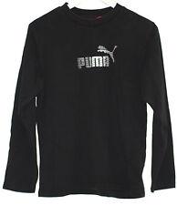 RETRO PUMA BLACK URBAN WAVEY FESTIVAL SWEATSHIRT JUMPER SMALL WOMENS 8-10