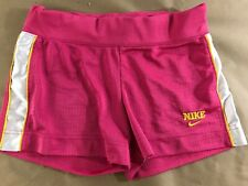 Nike Xs Women's Athletic Shorts Pink No Pockets D1