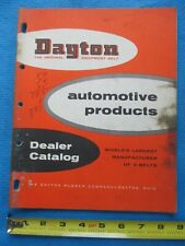 VINTAGE 1956 Dayton Automotive Products V-Belt Equipment Belt Dealer Catalog