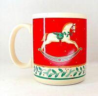 Vintage Hallmark Mug Rocking Horse 12 oz Capacity 4 inch Tall