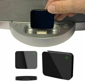 Wireless 30 Pin Bluetooth Adapter Converter for Bose SoundDock iPhone iPod Music