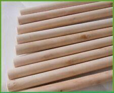 More details for 20 x wooden broom snow shovel scoop handles sweep brush handle bulk buy warehous