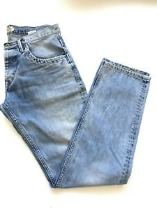 "PEPE JEANS LONDON Regular Fit Men Jeans Denim Size W33"" L34"" Pre-owned"