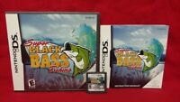Super Black Bass Fishing - Nintendo DS DS Lite 3DS 2DS Game Tested Complete