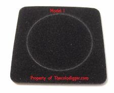 5 Air-tite Coin Capsule Display Card Storage Insert Holder BLACK Model I or 43mm