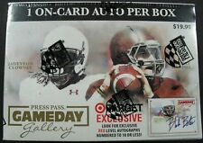 Nfl Press Pass Gameday 2014 Trading Card Box Sealed / ovp 1 auto