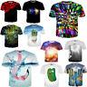 3D Scenery Crew Short Sleeve Graphic Tops Men Women's Summer Tee T-Shirt Clothes