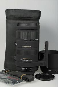 Sigma AF 120-400mm / 4,5-5,6 APO DG OS HSM für Sony A-Mount - Vom Fachhändler