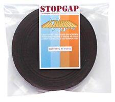 StopGap Floorboard Draught Excluder - Brown