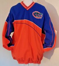 Florida Gators Windbreaker  Pullover Orange Size L NCAA Fathers Dad UF Gift