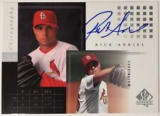 2000 SP Authentic SP Chirography Rick Ankiel Auto