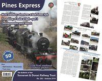 Somerset and Dorset Railway Trust; S&D, Pines Express 282 - Autumn 2016