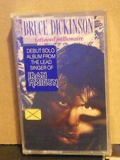 BRUCE DICKINSON-TATTOOED MILLIONAIRE-musicassetta SIGIL